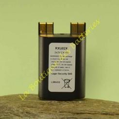 RXU02X Batterie Daitem 3v 2,4 Ah