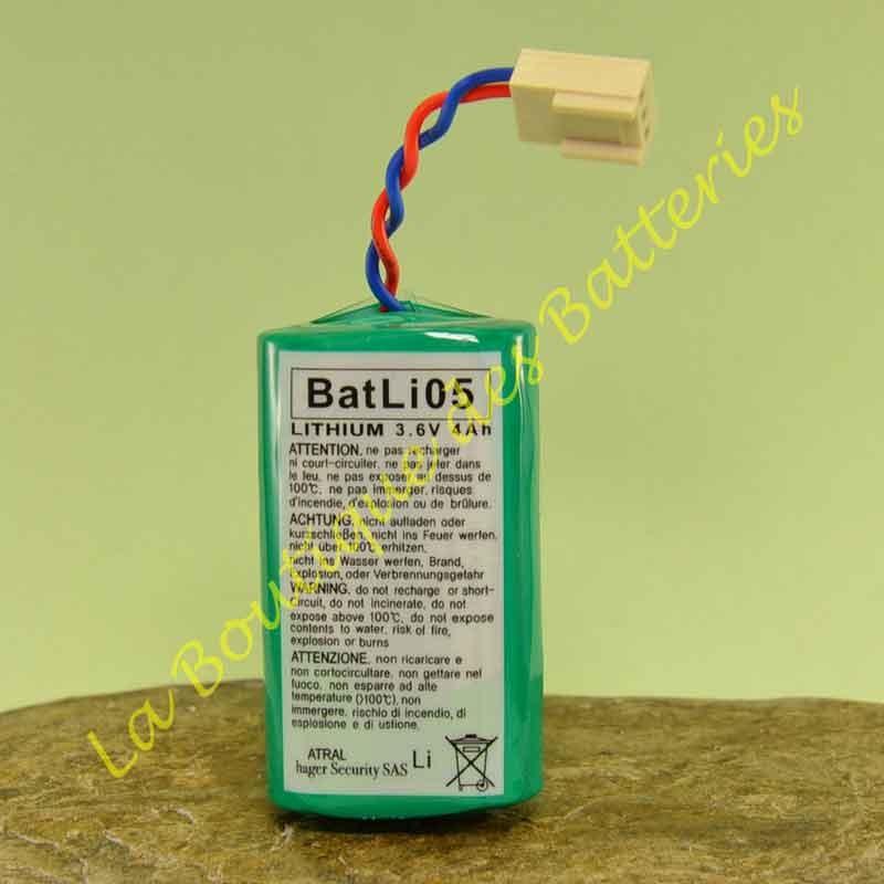 Batli05 Batterie Daitem 3,6v 4 Ah