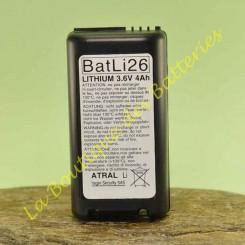 Batteria Litio Batli26 :...