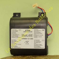 Batteria Litio Batli02 7.2v...