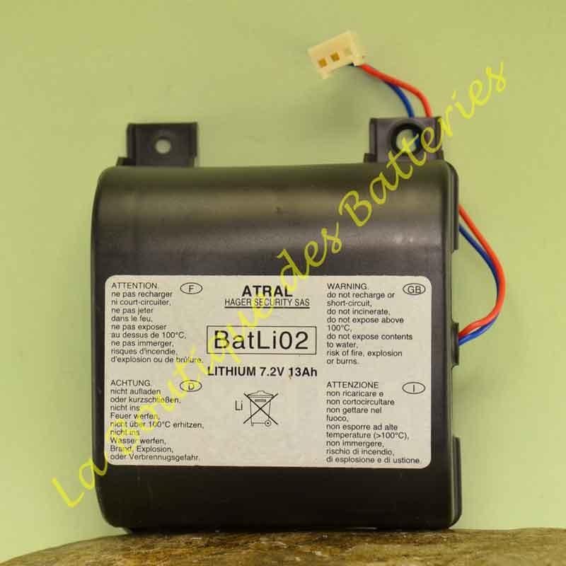 Batterie Batli 02 7,2v 13Ah Daitem DP8000