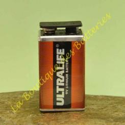 Batli10 Pile Lithium ULTRALIFE 9V