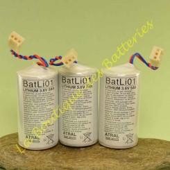 Batli 01 3,6v 5Ah d'origine Daitem