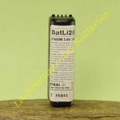 Batli28 3,6v 2Ah d'origine Daitem DP8000