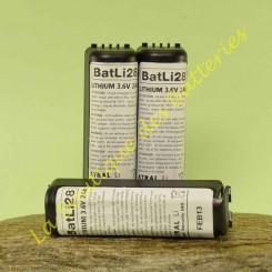 Batteries Batli 28 3,6v 2Ah d'origine Daitem DP8000
