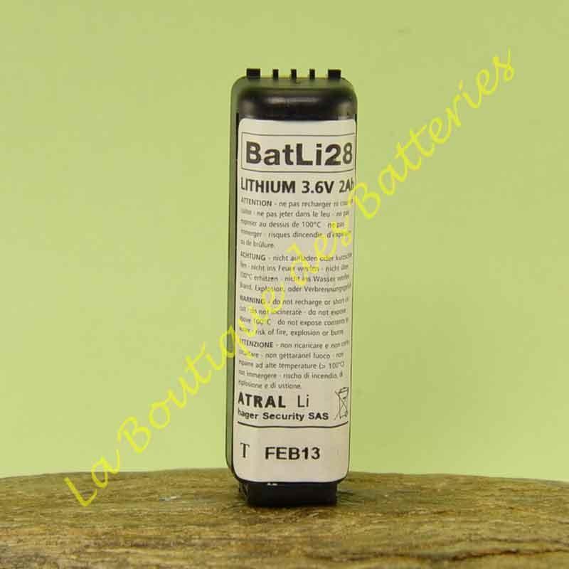 Batli28 3,6v 2Ah d'origine Logisty Hager