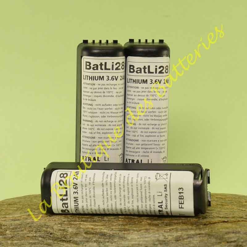 Batli28 3,6v 2Ah Logisty