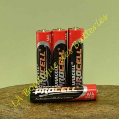 Pile Duracell Procell AAA pour alarme Diagral