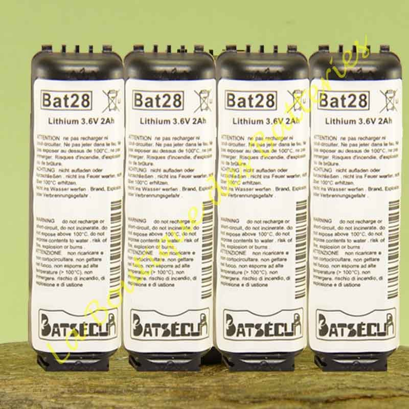Batterie Bat28 Batli28  Daitem Logisty Hager