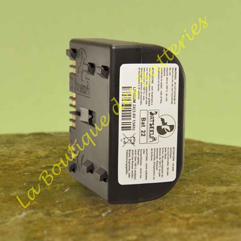Batterie Batli22 3,6v 13Ah batsecur pour alarme Diatem Hager