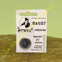 Pile Bouton Batli07 Batsecur pour alarme Daitem et Logisty