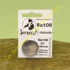Bat08 3v tipo CR2430...