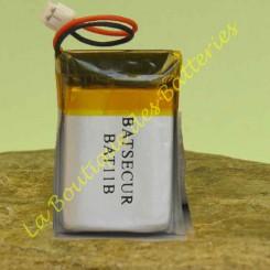 Bat11B  Batterie compatible Batsecur