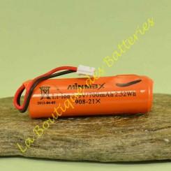 Batterie Lithium secondaire 908-21X 2Ah d'origine daitem