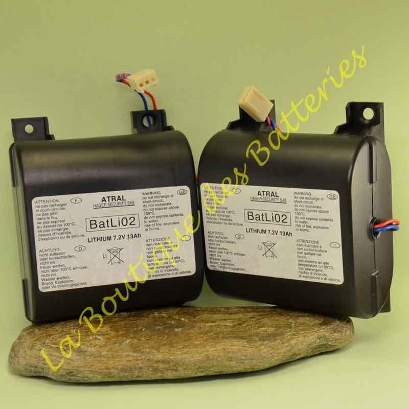 Batterie Batli02 7,2v 13Ah d'origine Daitem