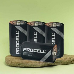 Pile Procell D LR20 1,5 volts pour alarme Diagral